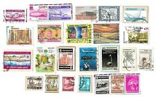 BANGLADESH - Selection of Stamps on Paper from Kiloware