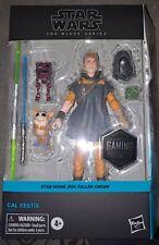 Hasbro Star Wars The Black Series Cal Kestis Toy 6-inch Scale Star Wars Jedi: F?