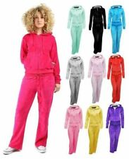 Velour Hoodie Tracksuits & Sets for Women