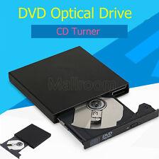Portátil Externo USB 2.0 DVD Combo DVD-ROM CD-ROM Disco duro CD Burner Grabadora