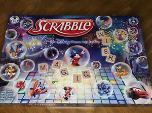 SCRABBLE DISNEY THEME PARK SPECIAL EDITION BOARD GAME 2012 NEW OPEN BOX