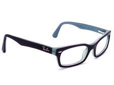 71b8a23c9a8 Ray Ban Kid s Eyeglasses RB 1533 3598 Purple on Blue Horn Rim Frame 47