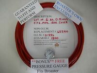 """COVER O-RING FOR MODEL 1600 10/"""" installed dia 12ea FITS BROASTER HIGH QUALITY!"""