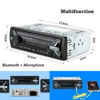 12V Car Bluetooth MP3 Machine Bluetooth Hands-free Calling TF/USB Card Radio