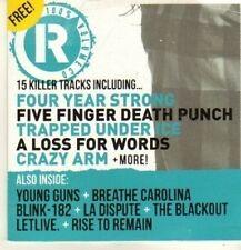 (CN825) 100% Volume, Rocksound #154 CD, 15 tracks