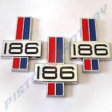 186 Front Guard & Boot Badges x3 NEW for HK HT HG Kingswood Premier Monaro GTS
