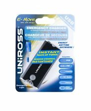 Uniross Urgence Chargeur pour téléphones et iPod avec torche