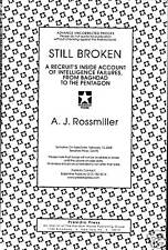 Still Broken by A.J. Rossmiller Advance Proof!