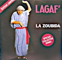 ++VINCENT LAGAF' la zoubida SPECIAL COLLECTOR REMIX MAXI PROMO 1991 NM++