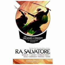 The Legend of Drizzt Book III by R. A. Salvatore (25th Anniversary Edition)