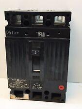 GE TEC36003 3-Amp 3-Pole 600-Volt Motor Circuit Breaker 3A 3P 600VAC