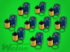 10 x Ölfilter SH4771 VW FOX LUPO 1,2 1,4 MILTIVAN TRANSPORTER T4 T5 1,9 2,5 TDI