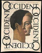 "CASSANDRE AM ""OCCIDENT"" 1947"