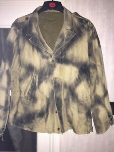WW2 Army Reproduction m41 Jacket Camoed