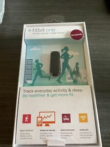 Fitbit One Activity Tracker pedometer NEW In Box Burgundy Fitbit 1