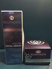 NEUPHORIC & REAWAKEN 15ml each - NEW IN BOX *face and eye anti-aging creams