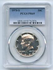1970 S 50C Kennedy Half Dollar PCGS PR69