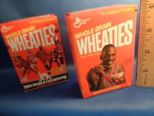 WHEATIES - MICHAEL JORDAN MINI BOXES (2) DIFFERENT - CLASSIC COLLECTIBLE ! LQQK