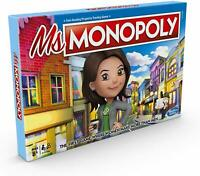 MS. Monopoly Board Game The First Game Where Women Make More Than Men