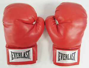 Everlast Red Boxing Sparring Training Gloves Classic Wrist Wrap - 14 Ounce