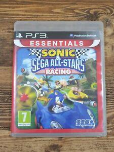Sony PS3 Playstation 3 Sonic Sega All Stars Racing