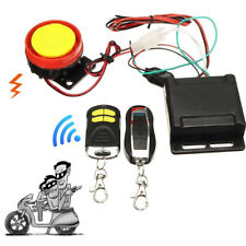 Motorcycle Scooter Security Alarm System Anti-theft 2Remote Control Engine Start