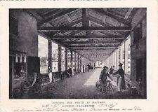 BASSANO DEL GRAPPA - Interno del Ponte di Bassano - Da una stampa Remondiniana