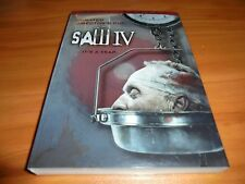 Saw IV (DVD, 2008, Full Screen - Unrated Director's Cut) 4 Used Tobin Bell
