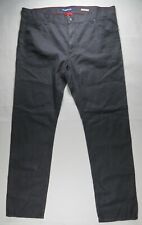 ALBERTO Stone Mens Pants 40/33 Linen Stretch Modern Fit EUC