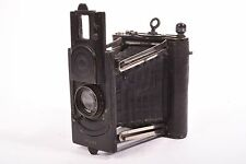 Salex by Murer & Duroni folding camera with Salex Anastigmat f/4.5 - 108mm lens.