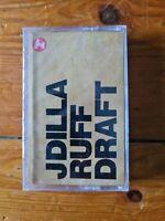 J Dilla - Ruff Draft - Sealed Cassette Tape. Jay Dee Stones Throw Madlib