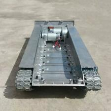 Leopard2A6 RC Tank Full Metal Chassis Assembly T3 Tracks Deep Green Color 1/16