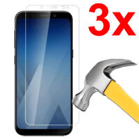 3x Case Friendly Tempered Glass Screen Protector for Samsung Galaxy A8 (2018)