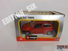 Burago 1:24 1999 FIAT PUNTO MK1 Red boxed a
