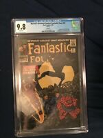 Fantastic Four #52 9.8 CGC First appearance of Black Panther REPRINT