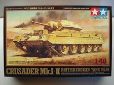 Tamiya 1:48 Scale British Crusader Mk.I/II Diecast Chassis Model Kit - New 32541