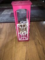 Barbie Dream House ELEVATOR 2015 Replacement Part Doll Holder Pink White Mattel