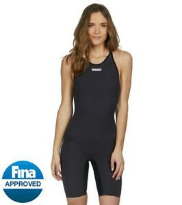 NEW — Womens 24 — Arena Powerskin Carbon Flex VX — Open Back Kneeskin Tech Suit