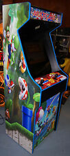 MARIO Themed Cabinet Multiple Games Arcade Simpsons, X-Men, Turtles, NEO GEO +!