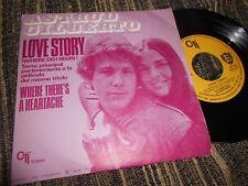 "ASTRUD GILBERTO LOVE STORY/WHERE THERE'S A HEARTACHE 7"" 1971 CTI SPAIN"
