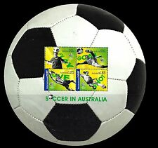 Australia. World Cup Soccer. 2006 Scott 2521 Souvenir Sheet  MNH (BI#10)