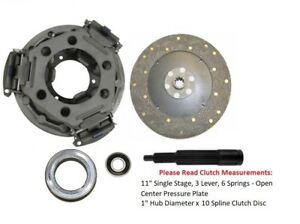"""11"""" Clutch Kit Ford Tractor 3000, 3300, 3310, 3400, 3500, 3600, 3610, 3910"""