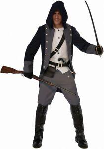 Herren Kostüm Silent Warrior Gr. M/L Krieger Kämpfer Assassin Cosplay Gamer LARP