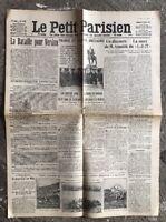 N50 La Une Du Journal Le Petit Parisien 25 Février 1916