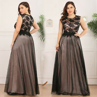 Ever-Pretty US Formal Long Homecoming Lace Mesh Party Cocktail Prom Dresses Gown