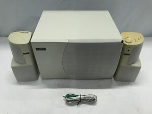 Altec Lansing ACS495 2.1 Computer Speakers and Subwoofer with Cables