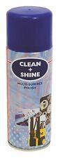 AEROSOL SOLUTIONS CLEAN + SHINE MULTI SURFACE POLISH SPRAY 12 x 400ML CAN