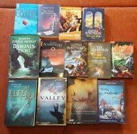Buchpaket 17 Fantasy Romane (3 Hardcover + 14 Taschenbücher)