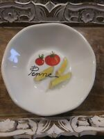 EFFETTI D'ARTE Handmade in Italy PENNE Salad Soup Pasta Bowl NWT