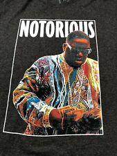 Notorious BIG Biggie Smalls Brooklyn Mint T-Shirt XL Short Sleeve Gray